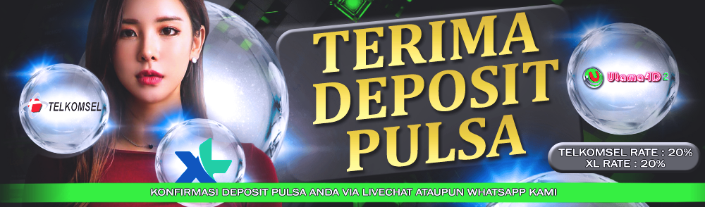 TERIMA DEPOSIT PULSA